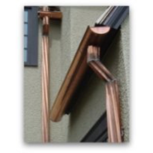 Copper Downpipes